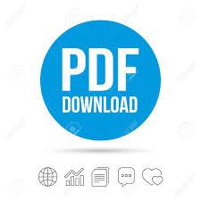 Pdf Download Icon Upload File Button Load Symbol Copy Files
