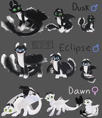 Eclipse Night Light Dusk Eclipse And Dawn Credits To Httyd_brt