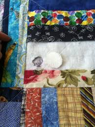 Tutorial: How to Repair a Hole in Your Quilt | The Millennial Quilts & Step 3: Cut a batting patch a bit larger than the hole in the batting Adamdwight.com
