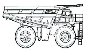 Dump Truck Coloring Pages Trustbanksurinamecom