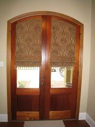 shades for front doorCustom made blinds for arched doors  Decorating  Pinterest