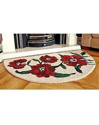 halfmoon rugs poppy half moon rug half moon rugs