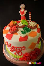 Songiah Mom At 70 Birthday Cake