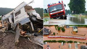 Germany and Belgium floods: At least ...