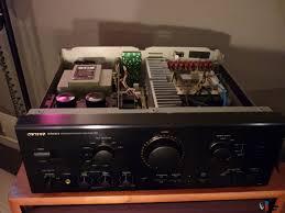 onkyo integra. onkyo integra a-809 integrated amp and t-403 tuner onkyo integra g