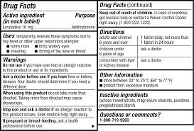 Wal Itin Dosage Chart Kirkland Signature Allerclear 365 Tablets