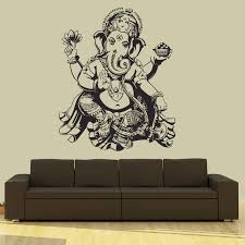Small Picture Aliexpresscom Buy Buddha Dance Indian Hinduism Wall Sticker