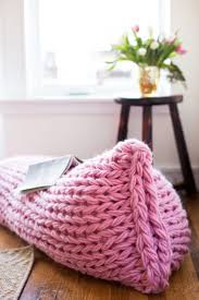Lazy Days Lounger Arm Knit Pillow Pattern