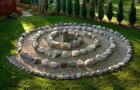 Idee Per Abbellire Il Giardino : Aiuole giardino con sassi rhus typhina lonicera pileata