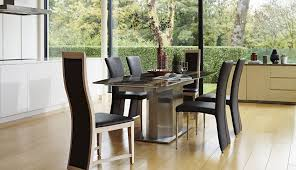 glass dining round gray modern large village set argos and diame room for tables white pedestal