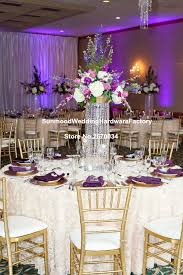spectacular inspiration chandelier centerpieces crystal table top for weddings wedding whole in glow party supplies from home garden