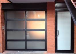 Aluminum Glass Garage Doors Are A Modern Trend