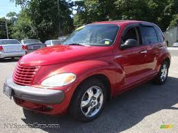 2001 Chrysler PT Cruiser Touring in Inferno Red Pearl - 624354 ...
