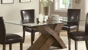 ideas cool glass set oak top wooden rectangular dining table pedestal pepperfry sets and decoration rectangle