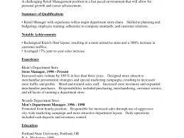 Resume Objective For Retail Horsh Beirut
