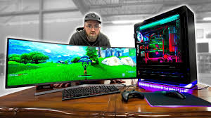 Fortnite on an INSANE $20,000 Gaming PC - YouTube