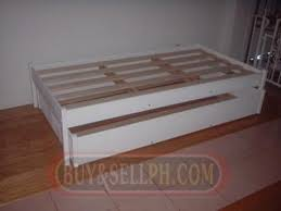 super saver single size trundle bed for
