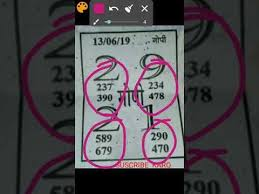 Kalyan Damaka Gopi Chart 13 6 2019 Panna Damala Play Karo