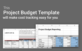 Budget Expenses Template Project Budget Template Excel Fully Planned Project In 1