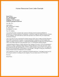 Human Resources Assistant Cover Letter Human Resource Cover Letter Hr Specialist Sample Commonpence Co 20