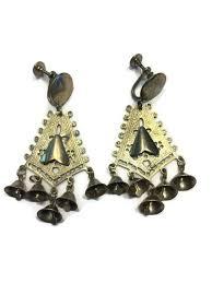 on vintage indian chandelier