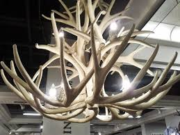 24 photos gallery of faux antler chandelier for the natural