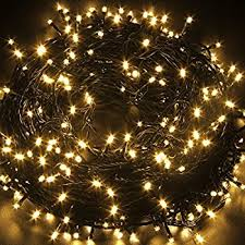 Fullbell 33ft Christmas LED Fairy Twinkle String lights 80 LEDs with  Controller for Chirstmas Tree,