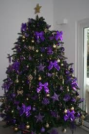 Purple Christmas Trees