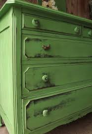 green painted furniture. Good Distressed Painted Furniture With Ddfafcfdbeaafeb Green T
