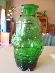 huge glass vase round