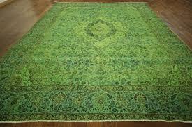 image of lime green area rug themes