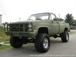 1985 Chevrolet D30 K30 Military Unit Lifted 4X4 Regular Cab Long Bed