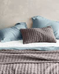 eileen fisher bedding. Contemporary Bedding Amazoncom Eileen Fisher Washed Linen Sheets  Double Flat Blue Slate  Home U0026 Kitchen With Bedding D