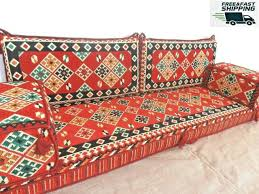 furniture floor seating arabic cushions