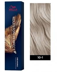 Wella Koleston Perfect Me Permanent Hair Color 10 1 Lightest Blonde Ash