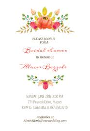 Free Bridal Shower Invite Templates Free Printable Bridal Shower Invitation Templates