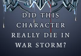 did this red queen character really in war storm