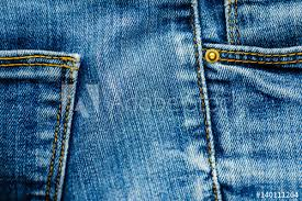 Denim Pants Elements As Background Detail Of Jeans Trousers Close