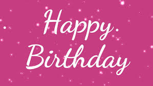 Girly White Happy Birthday Text Stock Footage Video 100 Royalty Free 1022027944 Shutterstock