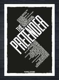 Foo Fighters The Pretender Song Lyrics A3 Print Created In Adobe