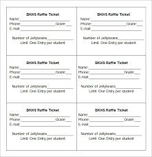 Draw Tickets Template Free 24 Raffle Ticket Templates Pdf Psd Word Indesign Illustrator