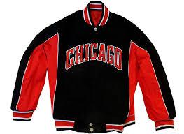 Jh Design Nba Jackets Jh Design Mens Nba Chicago Bull Reversible Cotton Jacket 3xl