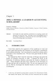 joel s demski a leader in accounting scholarship springer essays in accounting theory in honour of joel s demski