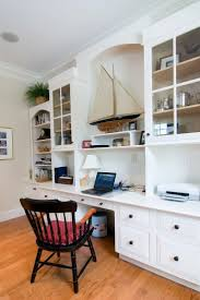 Built In Office Desk And Cabinets 17 Best Images About Office On Pinterest Peach Colors Bookcases