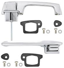 1966 cadillac door handle kit outside front