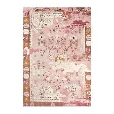 pink persian rug carpet