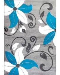modern gray area rugs white and gray area rug rugs modern fl turquoise white gray area