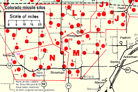 Nuclear Silo For Sale Colorados Nuclear Missile Silos Maps Flights J L M And K