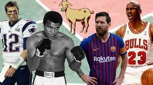 The GOAT From EVERY Major Sport - YouTube