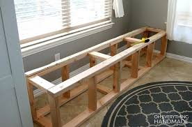 built in kitchen bench how to build a nook oh everything handmade dimensions
